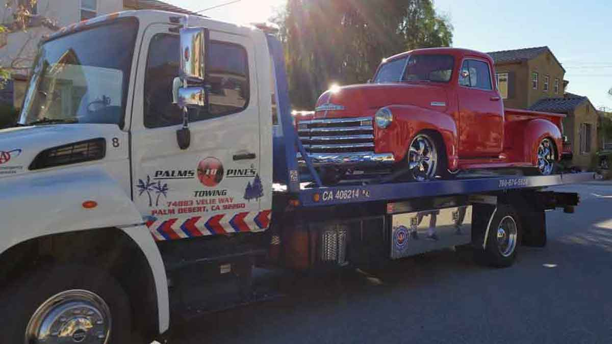 Towing Palm Desert CA